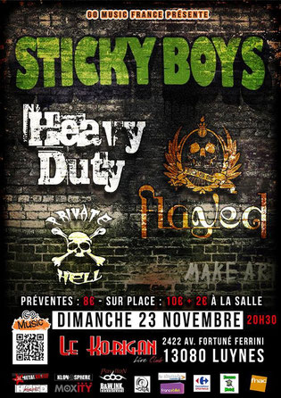 2014-11-23 Sticky Boys @ Le Korigan, Luynes