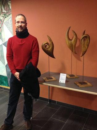 Markus Brinker mit Skulpturen Zyklus