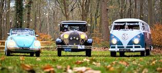 Vriendinnen uitje met VW Busje