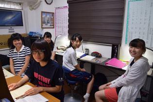 Room2での特別授業(中学部)