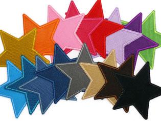 Cordflicken Stern, Flicken für Cordhose zum aufbügeln, Knieflicken Cord