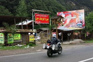 Iranischer Campingplatz bei Masuleh