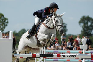 Grace Pondi en Grand-Prix (Photo. M.Lebel).