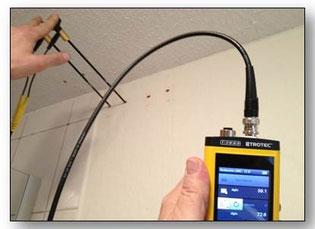 Feuchtigkeitsmessungen Bautrocknung