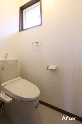 トイレ入れ替え工事後