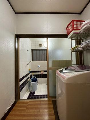 洗面脱衣室(改装前)