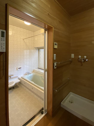 既設浴室入口