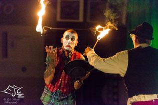 Nico Sanches AKA El Nikitooooo Pyro Clownnn - auf der EJC 2015