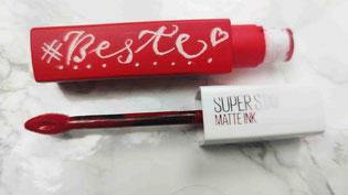 Lip stick personalisiert mit kalligraphischer Handgravur