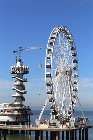 Das Riesenrad Von Scheveningen Scheveningen Strand