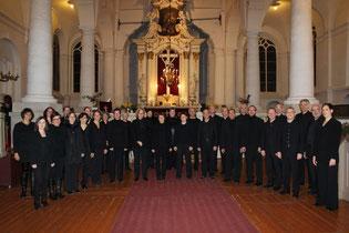 Das Bonner Vokalensemble in der Johanniskirche in Riga