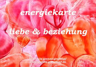 energiekarte liebe & beziehung, je 8,50€