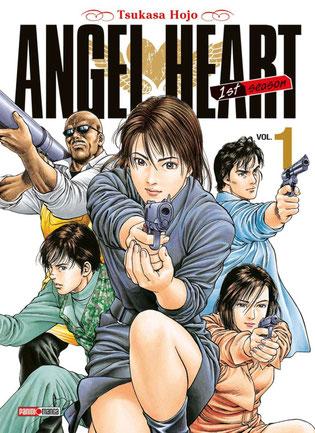Angel Heart manga tome 1. Source:http://www.mangamag.fr/actualite/ actualite-manga/manga-angel-heart-de-tsukasa- hojo-va-prochainement-se-terminer/