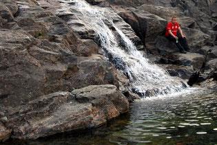 Нефритовый водопад
