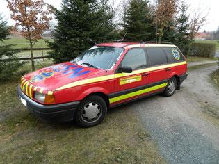 VW Passat Kombi - Dienstwagen.