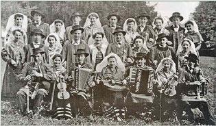 Le groupe de la période 1941 - 1943