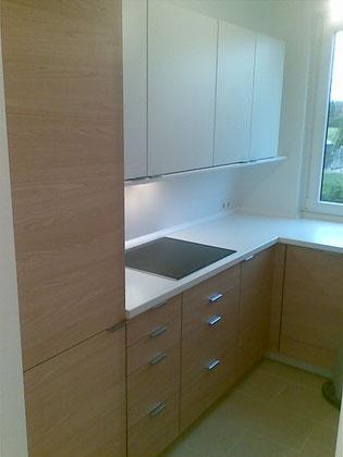 Einbauküche auf kleinem Raum