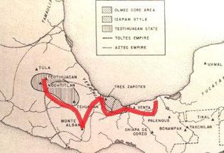 Unsere Abenteuer- und Pilgerroute MEDIZINPFAD ZUR MUTTERGÖTTIN - eine innere Reise zu den heiligen Plätzen der Olmeken