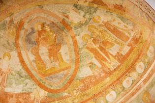 Affreschi dell'Abside - particolare - Basilica di Aquileia