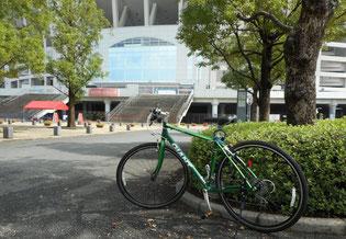 自転車はストレス解消になります。