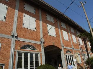 帰途途中に、世界遺産「富岡製糸工場」を見学