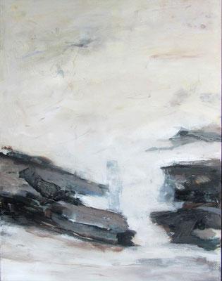 Fragmente, Mischtechnik, 90 x 70 cm, 2013