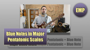Blue Notes in Major Pentatonic Scales