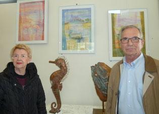 Anne-Marie Toulouse et Robert Rojo, invités d'honneur du 29e salon
