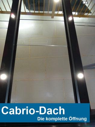 """Schiebedach """"Cabrio-Dach"""" auf gartenoasen.de"""