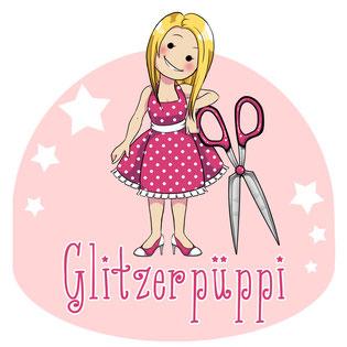 Glitzerpüppi Logo Logodesign