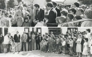 inauguration du magasin en 1982