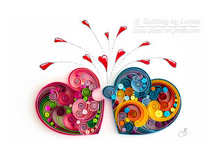 quilling, quilling art, paper, paper art, design. wall art, quilling wall art, love puzzle, Etsy, любовь пазлы квиллинг, бумага, дизайн