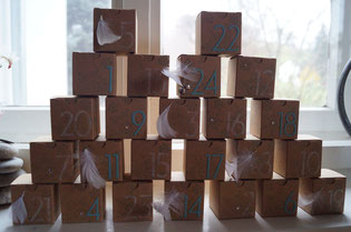Adventskalender 2014 Stampin´Up!