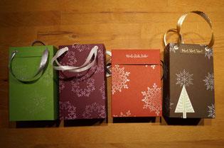 Weihnachtskarten Stampin´Up!