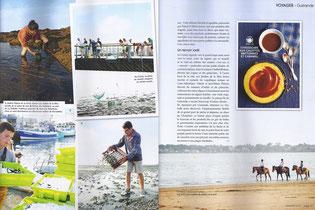 magazine Saveurs de juillet et août 2014