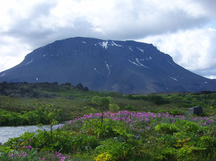 """Entspannungs- und Heilpraxis - spirituelle Seminare - Island - Berg HERDUBREID (auch """"Königin der Berge"""")"""