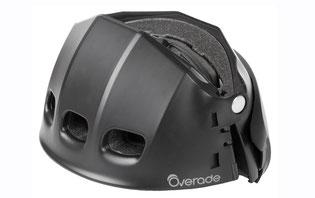 Das Volumen des Helms hat sich auf ein Drittel seiner ursprünglichen Größe reduziert