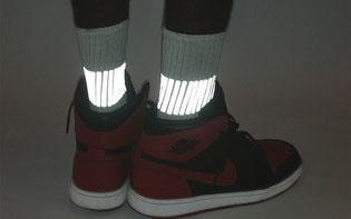 GEAR-017 reflektierende Socken © Heisel