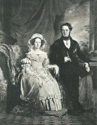 Le comte et la comtesse de Meeûs