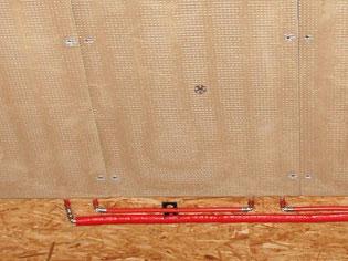 WEM Klimaelement Wandheizung - Lehm-Trockenbau Lehmplatte - Lehmbau Neuhaus