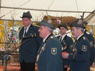 Am Montag übernimmt König Hermann die Herrschaft für das Schützenjahr 2010/2011