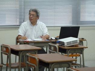 今回のしごと講話の直村さん