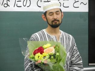 サプライズに坂本さんも感激してくれました。