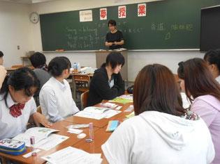 今回は早崎先生にも授業をご担当いただきました。