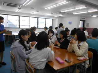 多くの生徒が参加しました