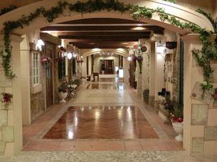 美しきホテル内の装飾