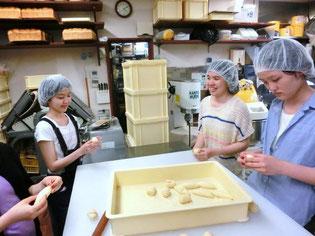 パンの生地は思い通りに形作るのが難しい!