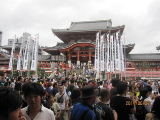 大須商店街のシンボルである大須神社。この神社の祭礼として夏祭りがあります。