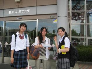 参加生徒集合写真