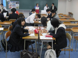 グループを作って事後学習を実施。